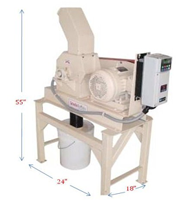 laboratory scale hammer mill dimensions
