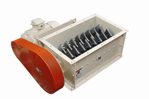 single rotor lump breaker